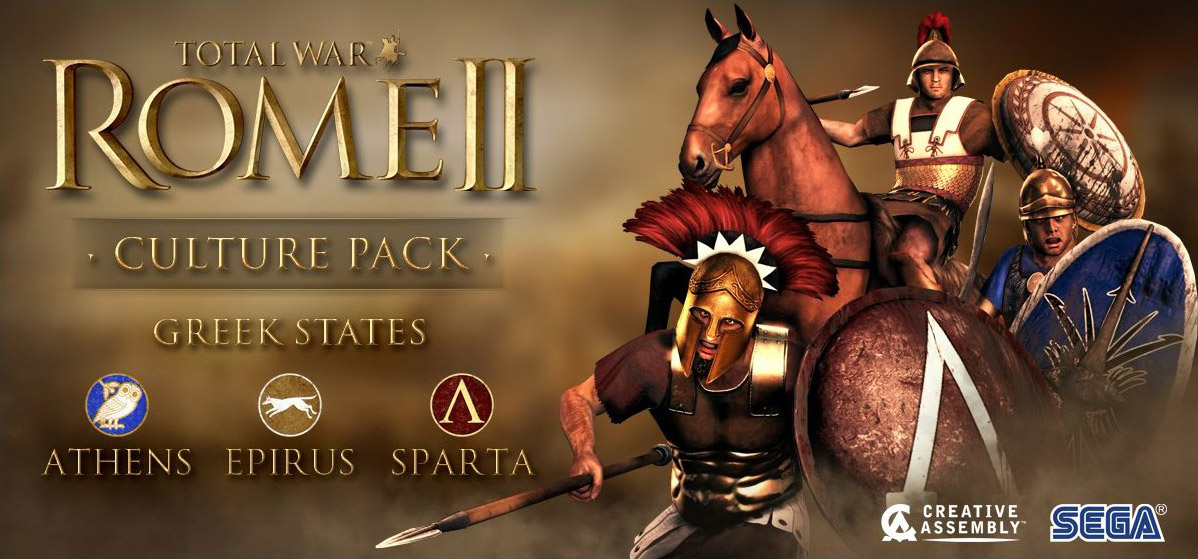 Total War: Rome 2 - трейлер CULTURE PAK - GREEK STATES