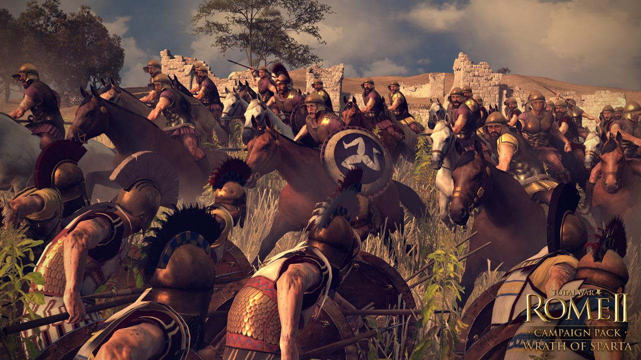 Презентация фракций Total War: Rome 2. Wrath of Sparta - Афины