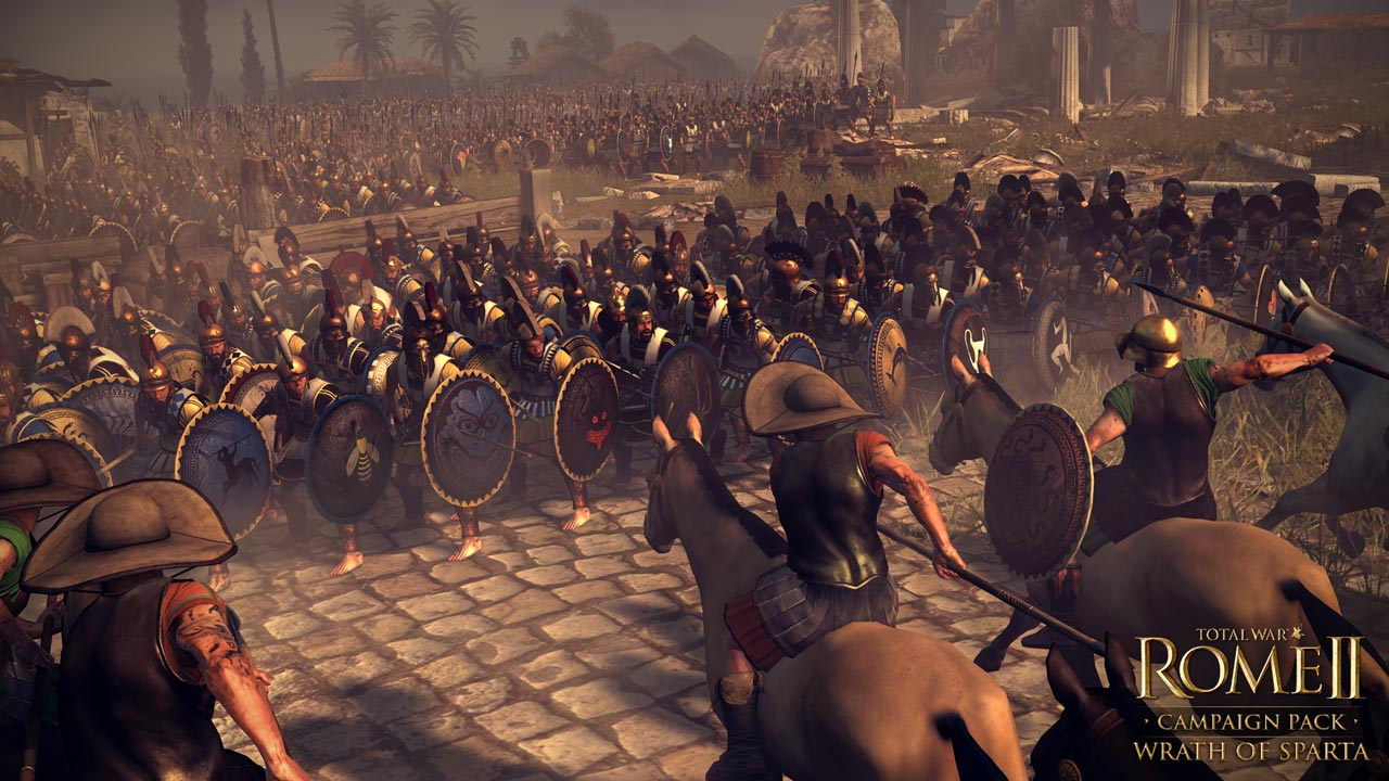 Презентация фракций Total War: Rome 2. Wrath of Sparta - Коринф