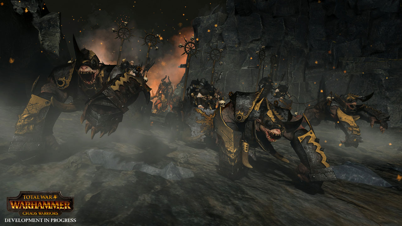 Total War: WARHAMMER - превью DLC Chaos Warriors Race Pack Набор рас Воины Хаоса