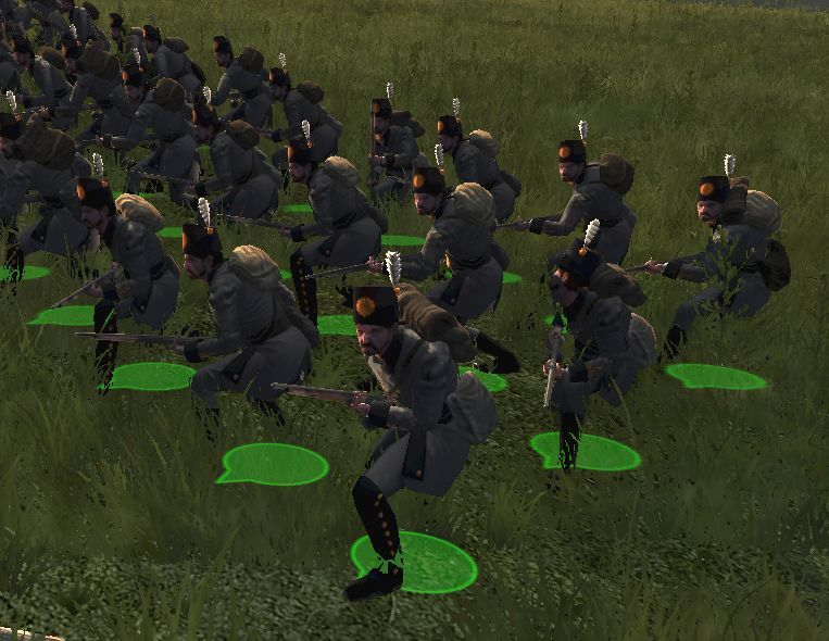 Empire Total War гранаты