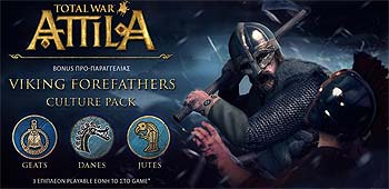 Total War: Attila. The Viking Forefathers Culture Pack - за предзаказ